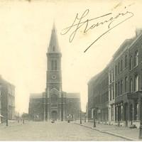 AEDB-CLO-0000023 - Carte postale de l'église vue du bd Maireaux.jpg