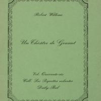 Un théâtre de gousset / Robert Willems