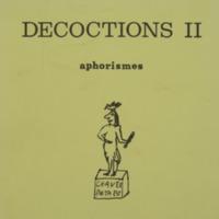 Décoctions II : aphorismes / Achille Chavée