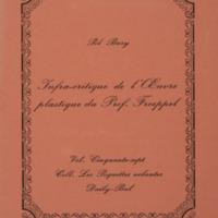 Infra-critique de l'oeuvre plastique du Prof. Froeppel / Pol Bury