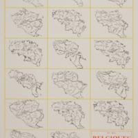 Belgiques : 17 ramollissements / Pol Bury