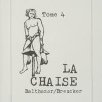 La chaise / André Balthazar et Roland Breucker