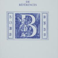 Dictionnaire de références : B / André Balthazar