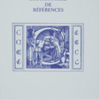 Dictionnaire de références : C / André Balthazar