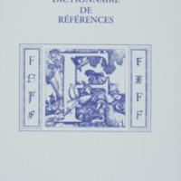 Dictionnaire de références : F / André Balthazar