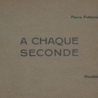 A chaque seconde / Pierre Puttemans