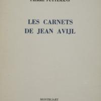 Les carnets de Jean Avijl / Pierre Puttemans