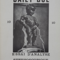 Essai d'analyse stéthoscopique du continent belge - Revue n° 10