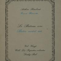 Le bateau ivre  / Arthur Rimbaud - Ernest Haucotte