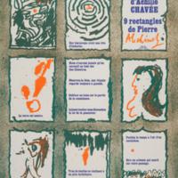 9 décoctions d'Achille Chavée - 9 rectangles de Pierre Alechinsky