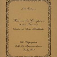 Histoires des Cronopiens et des Fameux / Julio Cortazar - Dessins de Pierre Alechinsky