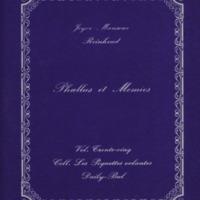 Phallus et momies / Joyce Mansour - Reinhoud