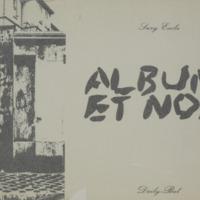 Album et noir / Suzy Embo