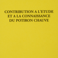 Contribution à l'étude et à la connaissance du potiron chauve / François-René Cornichou