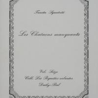 Les chaînons manquants / Fausta Squatriti