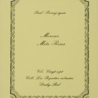 Moroses mots roses / Paul Bourgoignie