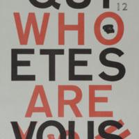 Who are you ? = Qui êtes-vous / Comité de rédaction André Balthazar et Pol Bury - Revue n° 12